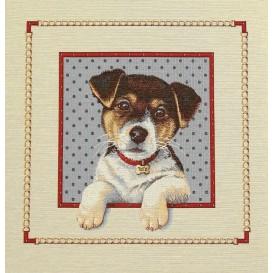 panneau de coussin artica chien toto 47cm x 47cm