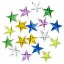 18 strass étoiles 13 mm