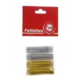 PAILLETTES DIAMANTINES OR/ARGENT