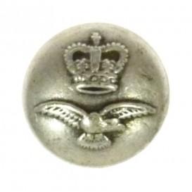 bouton métal aigle couronne