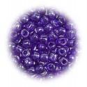 grosse perles de verre ronde violet 4mm