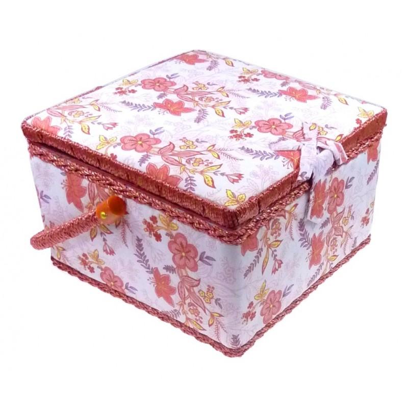 Boites couture et rangement du mat riel de cr ation for Couture boite