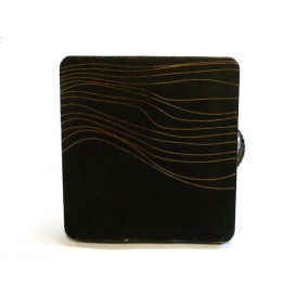 pince bois carré effet vague x2