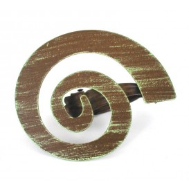 pince métal spirale x2