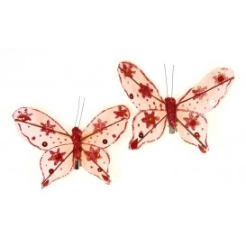 pince papillon nylon x2
