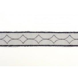ruban organza frise 19mm au mètre