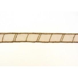ruban organza échelle 13mm au mètre