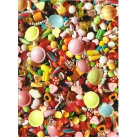 feuille décopatch bonbons
