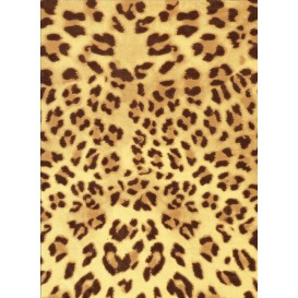 feuille décopatch léopard