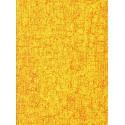feuille décopatch faux uni jaune