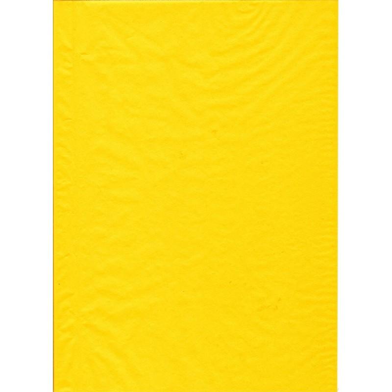 feuille d copatch uni jaune. Black Bedroom Furniture Sets. Home Design Ideas