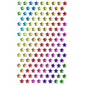 stickers crystal étoiles multicolore 136 pcs
