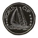 écusson bateau world cup thermocollant