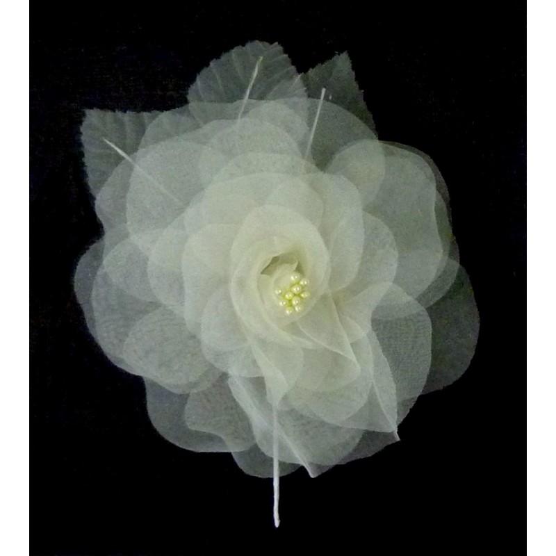 Mariage Fleur Organza Plumes Blanc Rouge Rose Violet Bleu Jau Pictures ...