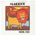 kit canevas margot lion