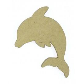 sujet en bois dauphin