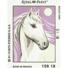 kit canevas cheval