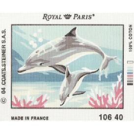 kit canevas dauphins