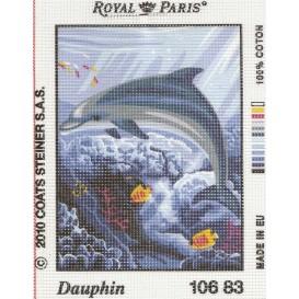 kit canevas dauphin