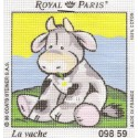 kit canevas vache