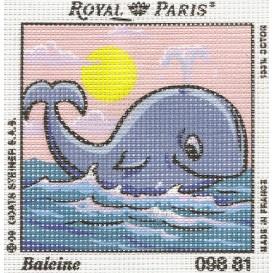 kit canevas baleine