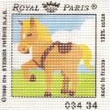 kit canevas cheval gros trous