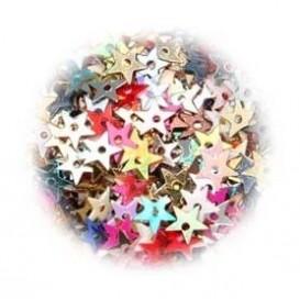 paillettes étoiles assortiment 5gr