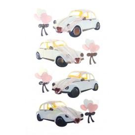 stickers auto mariage
