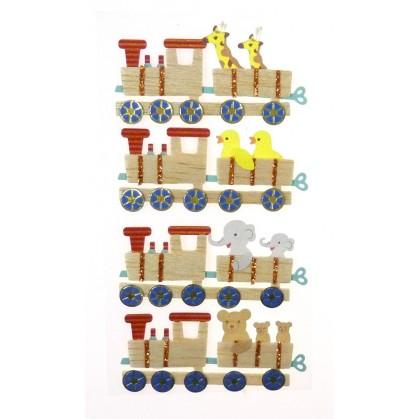 stickers jouet train