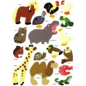 gommettes animaux 32 pièces