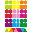 maxi gommettes géométriques 135 pièces