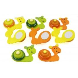 8 escargots 3D