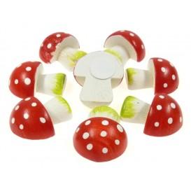 8 champignons 3D