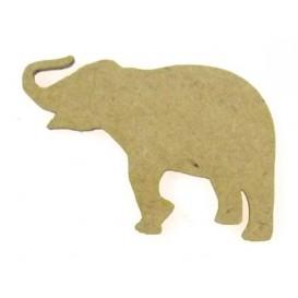 sujet en bois éléphant