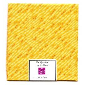 coupon patchwork imprimé jaune