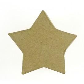 boite étoile en papier mâché