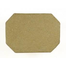 boite octogonale en papier mâché