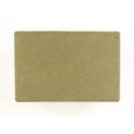 boite rectangle en papier mâché