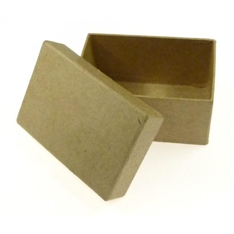 boite rectangle en papier m ch 103x68x52mm. Black Bedroom Furniture Sets. Home Design Ideas
