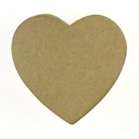 boite coeur en papier mâché