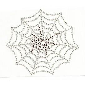 transfert en strass araignée 11x12cm
