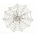 transfert en strass toile d'araignée 11x12cm