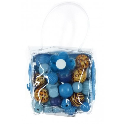 kit perles box mini malice perle bleu