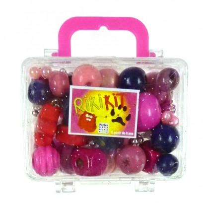 kit perles box rikikit perle rose