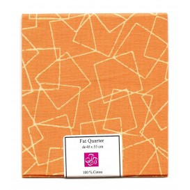 coupon patchwork imprimé carrés