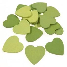 18 formes plates coeurs en bois