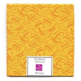 coupon patchwork imprimé traits jaunes