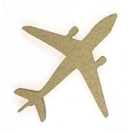 sujet en bois avion