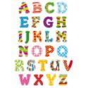gommettes alphabet 52 pièces
