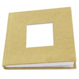 carnet mémo carrée en carton 80 pages 10,5x10,5cm